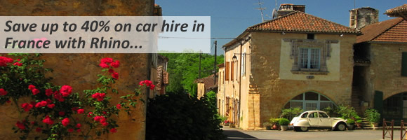 Cheap car hire France